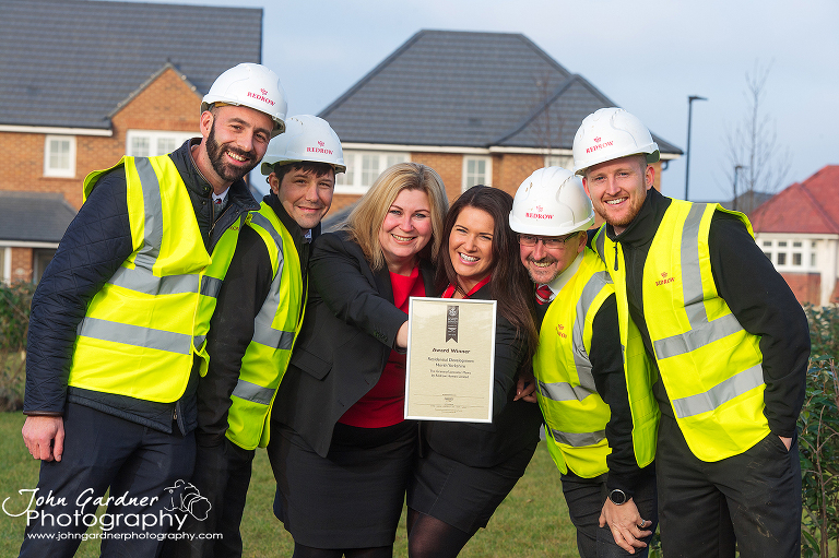 press & PR photography for Redrow Homes