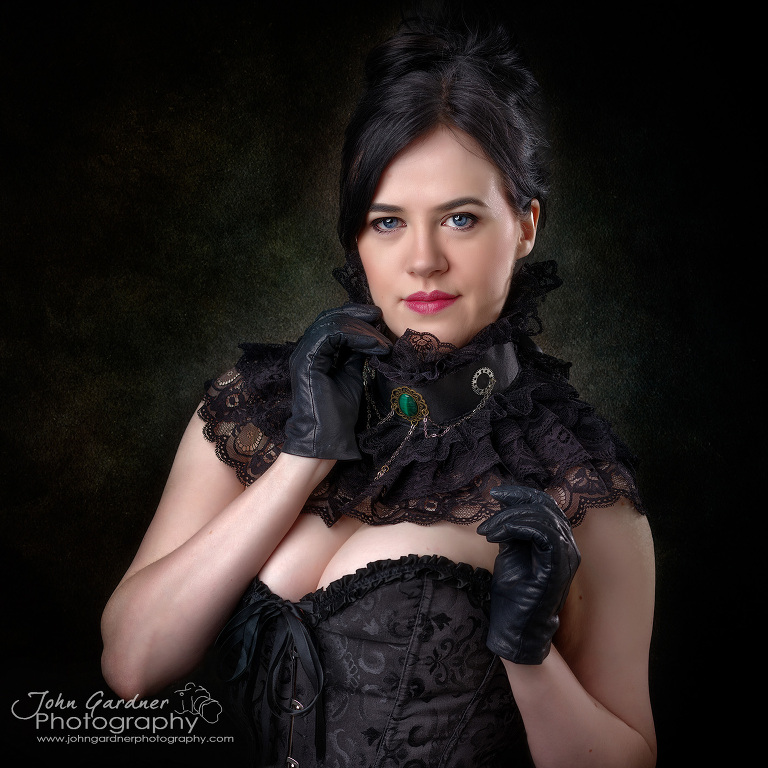 corsets and collars portfolio builder day