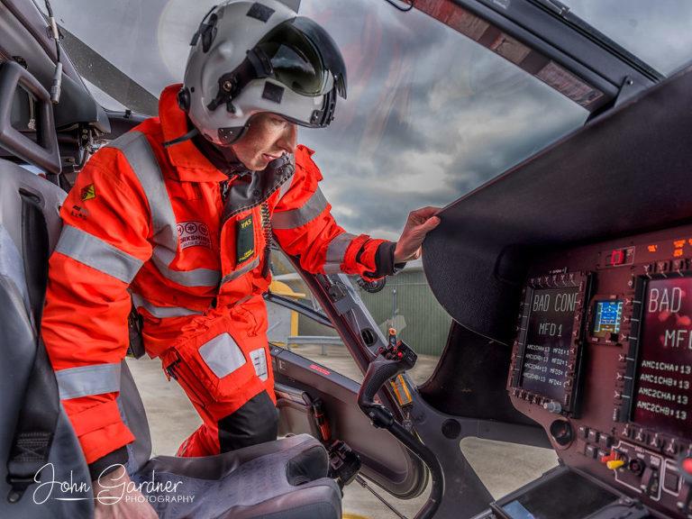 Yorkshire Air Ambulance paramedic