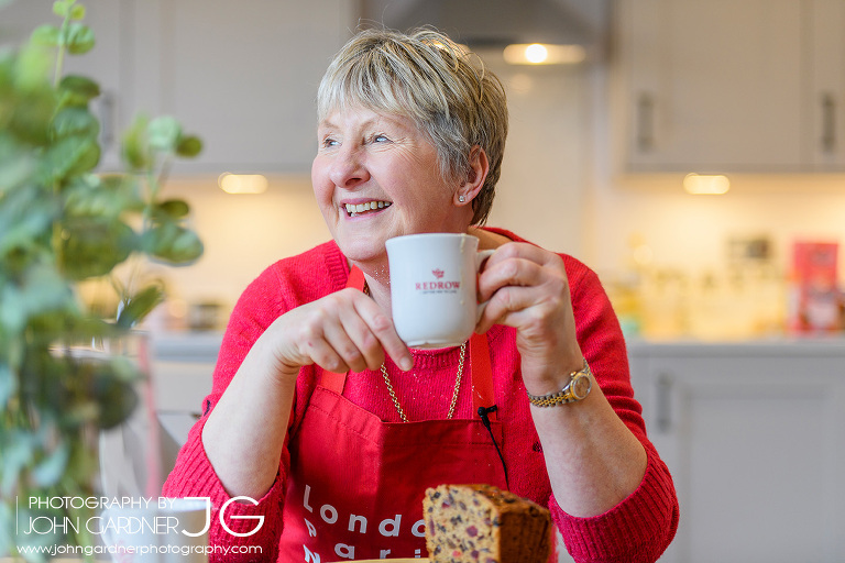 Val from GBBO Commercial photography
